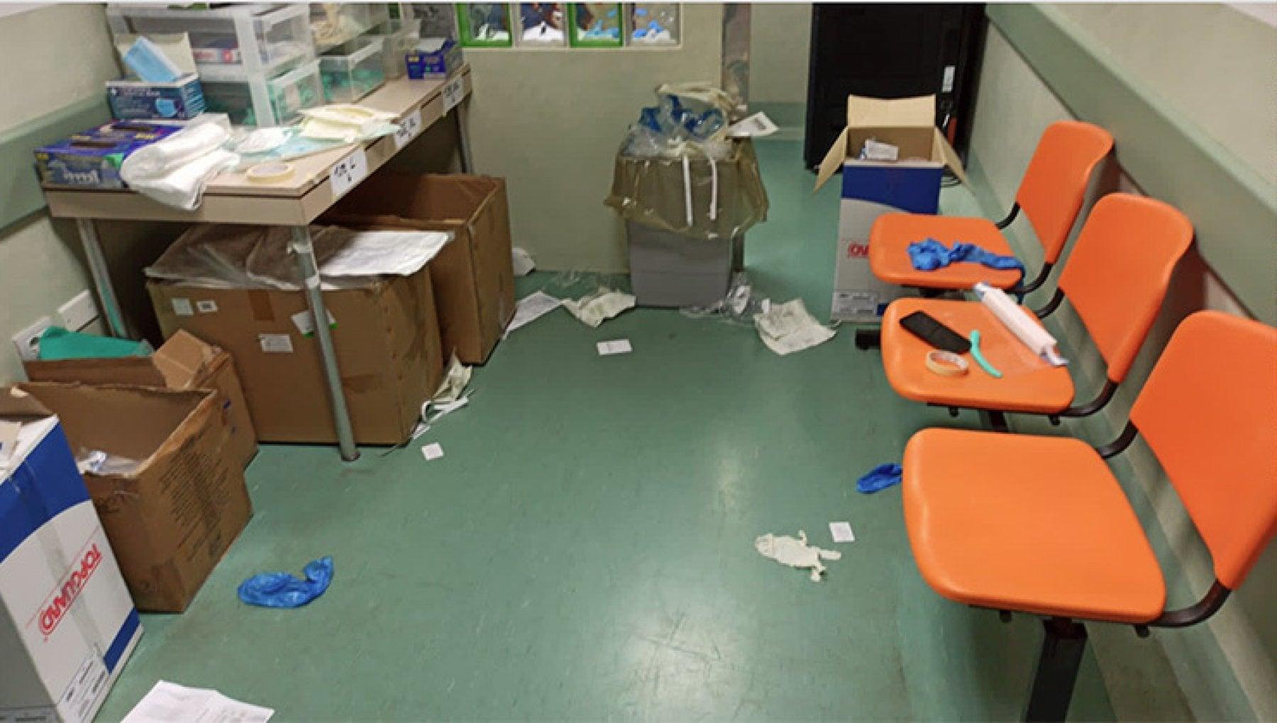 Pazienti Covid trattati disumanamente accampati derubati e senza cure linferno del Moscati di Taranto denunciato dagli stessi medici