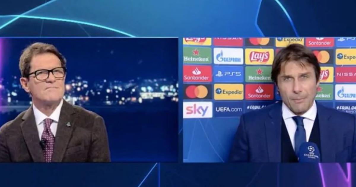 Pensate prima di fare le domande. Conte nervosissimo e Fabio Capello lo sbrana clamorosa rissa dopo la partita