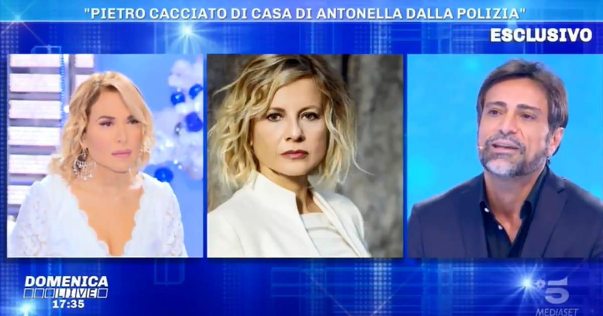 Pietro Delle Pine rompe con Antonella Elia arriva la polizia. Dopo il tradimento cacciato di casa cosi