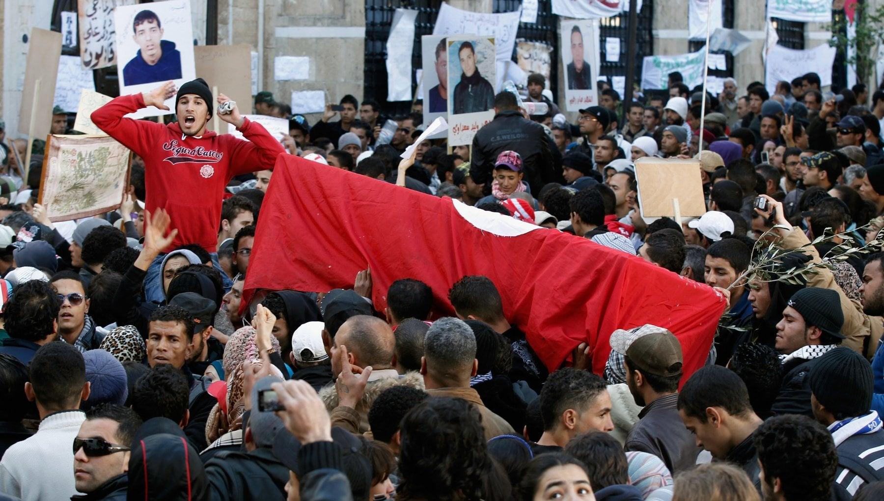 Primavere arabe la rivoluzione di Mohamed