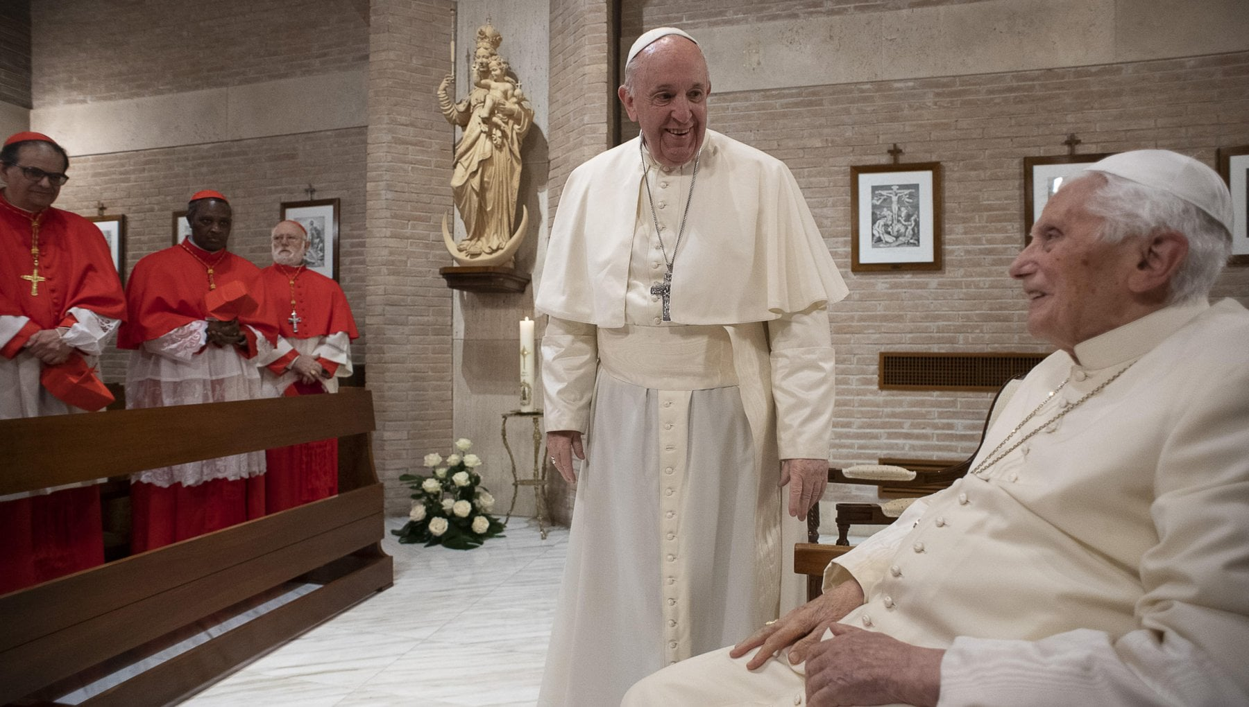 Ratzinger ora ha difficolta a parlare