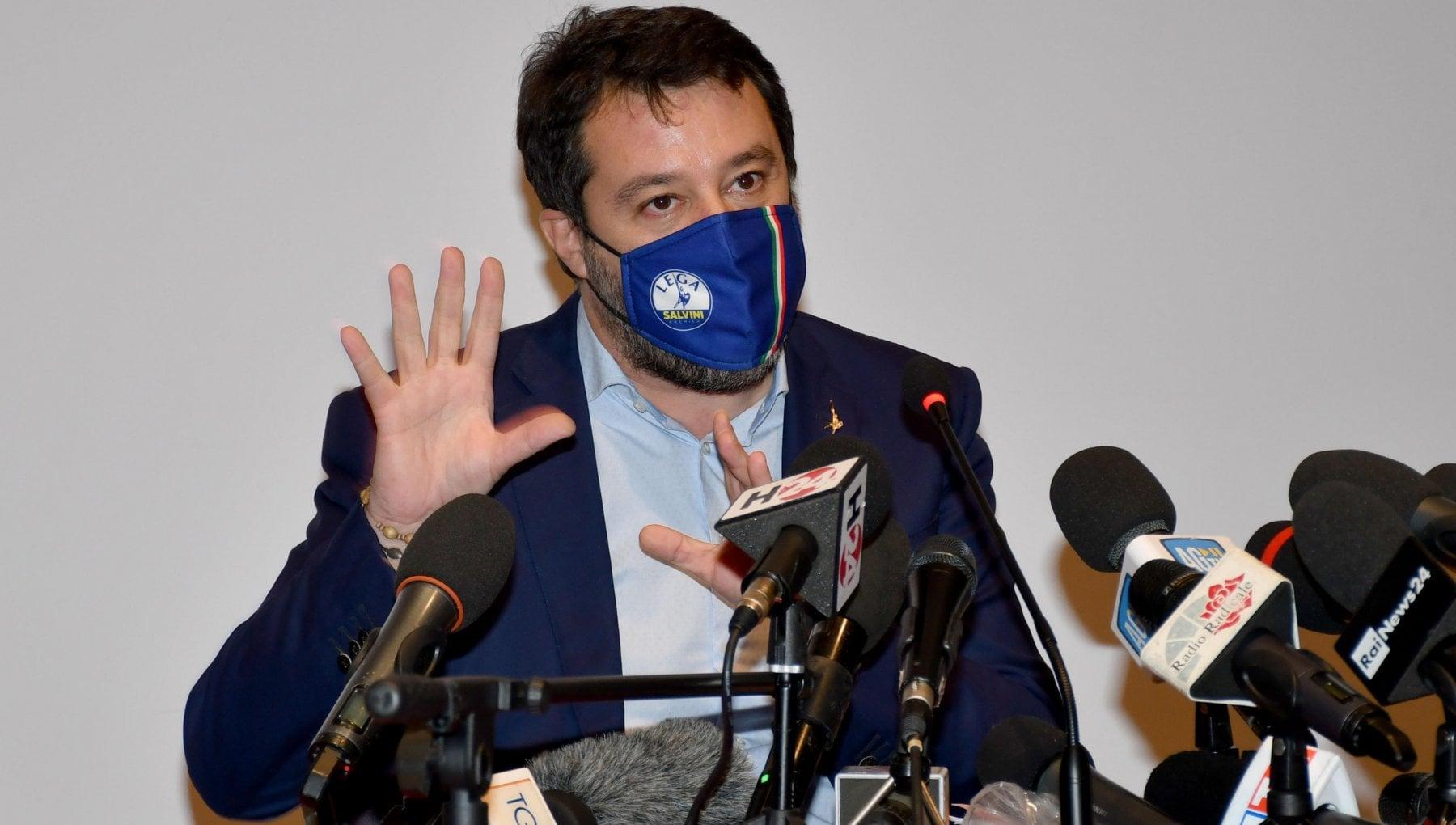 Salvini Presto alle urne con un governo di centrodestra che trovi i voti in Parlamento. Meloni Elezioni subito