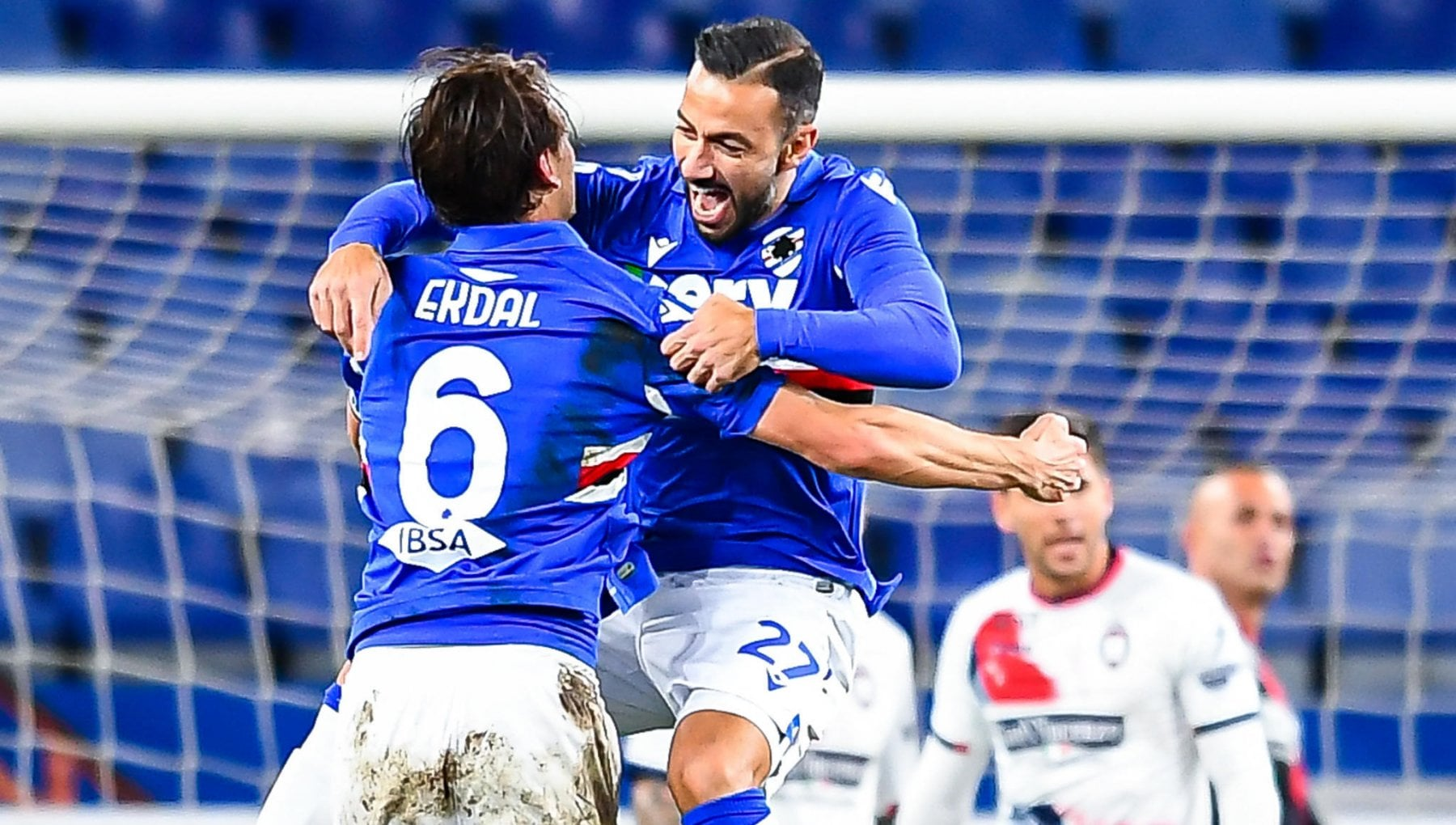Sampdoria Crotone 3 1 Damsgaard Jankto e Quagliarella confermano il rilancio doriano
