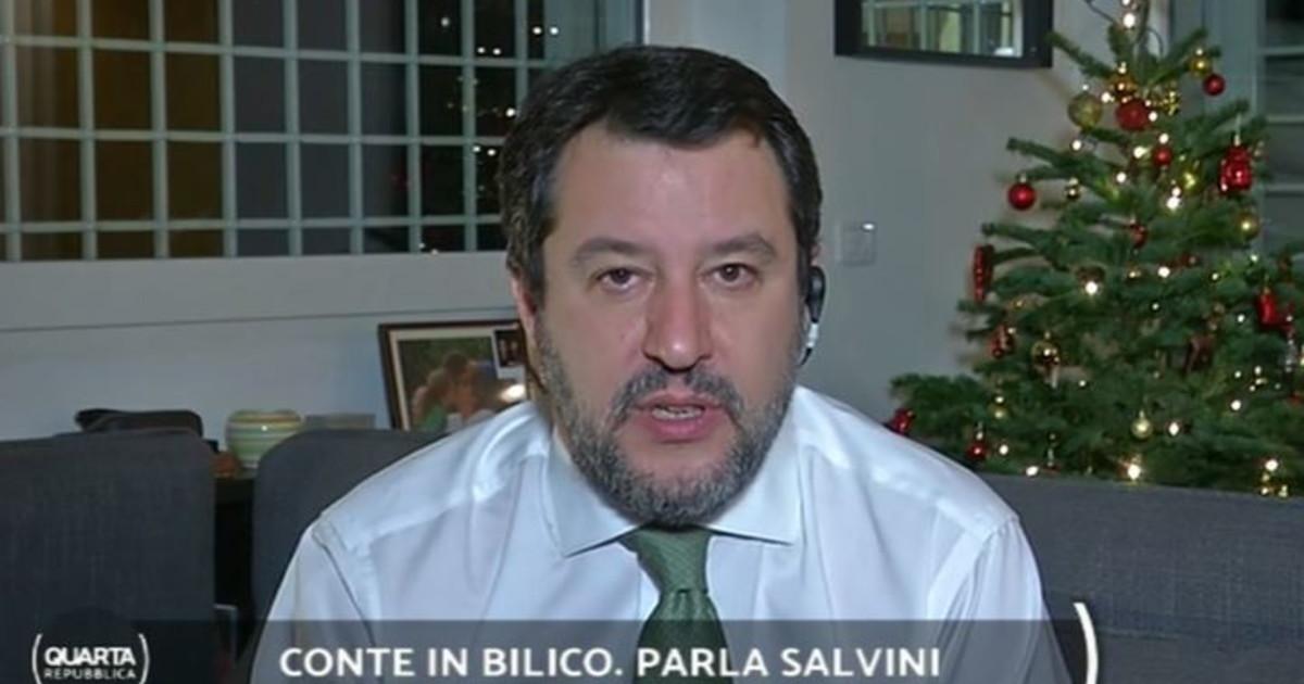 Sapete di cosa stanno parlando ora a Palazzo Chigi. Salvini bombarda Conte Squallido