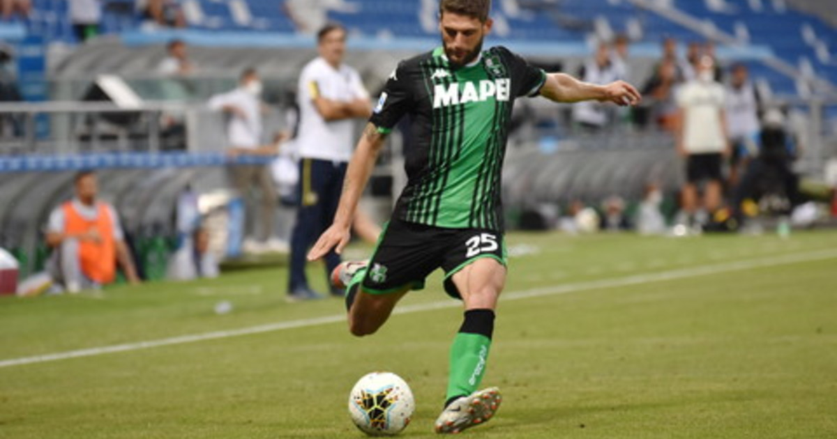 Sassuolo Benevento 1 0 decide un rigore di Berardi