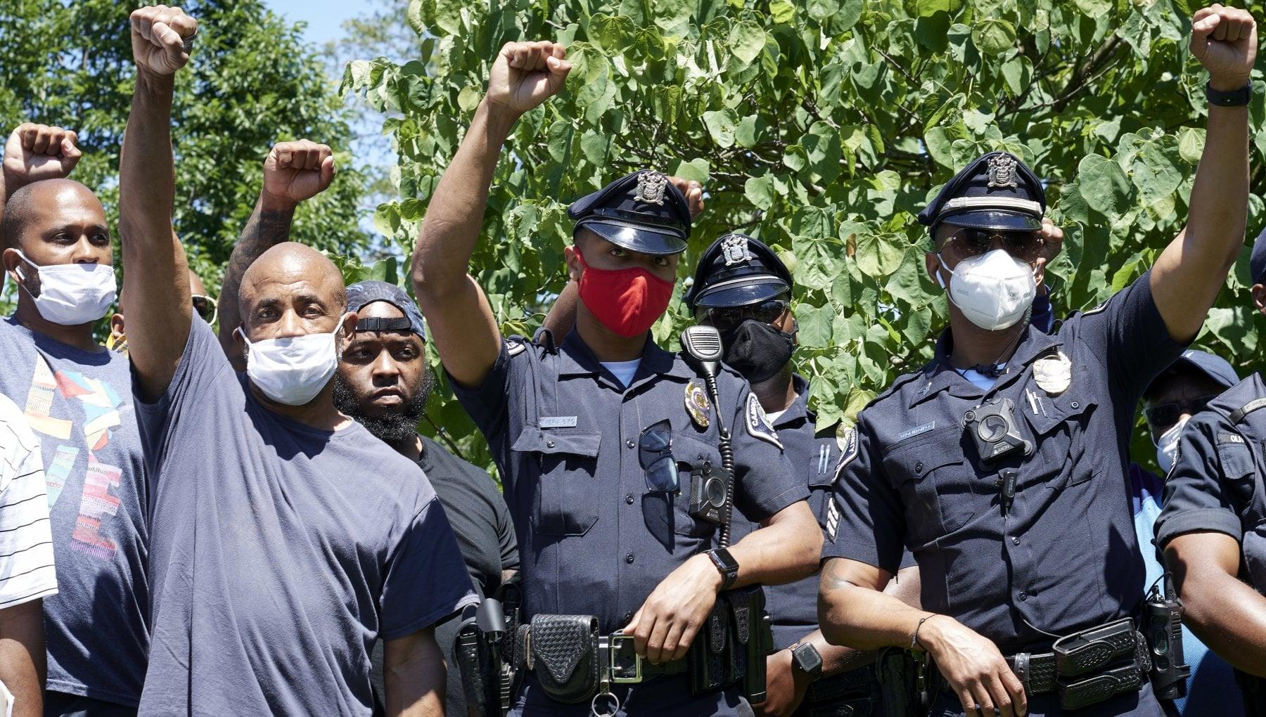 Scuola di polizia a Camden New Jersey