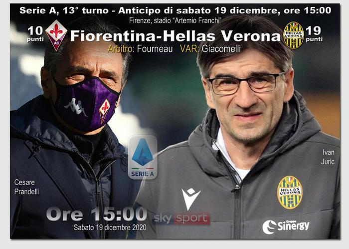 Serie A Fiorentina Hellas Verona LIVE alle 15