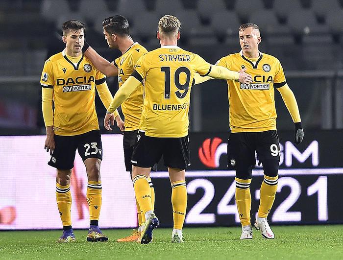 Serie A Torino Udinese 2 3 terza vittoria di fila friulana
