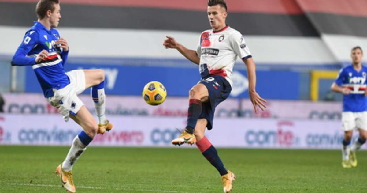 Serie A la Sampdoria ne fa tre niente da fare per il Crotone sempre piu ultimo