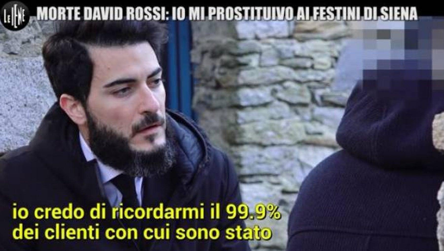 Siena morte David Rossi lescort dei festini e un assistente parlamentare della Lega