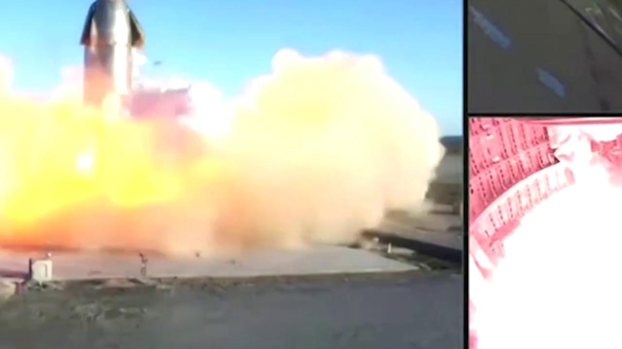 SpaceX il razzo di Elon Musk tocca terra ed esplode lo schianto dopo il test