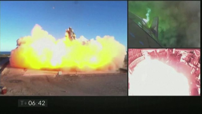 Spazio fallimento di successo per la Starship di SpaceX