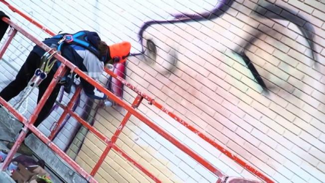 Street Art per sensibilizzare su malattie e donazione del sangue