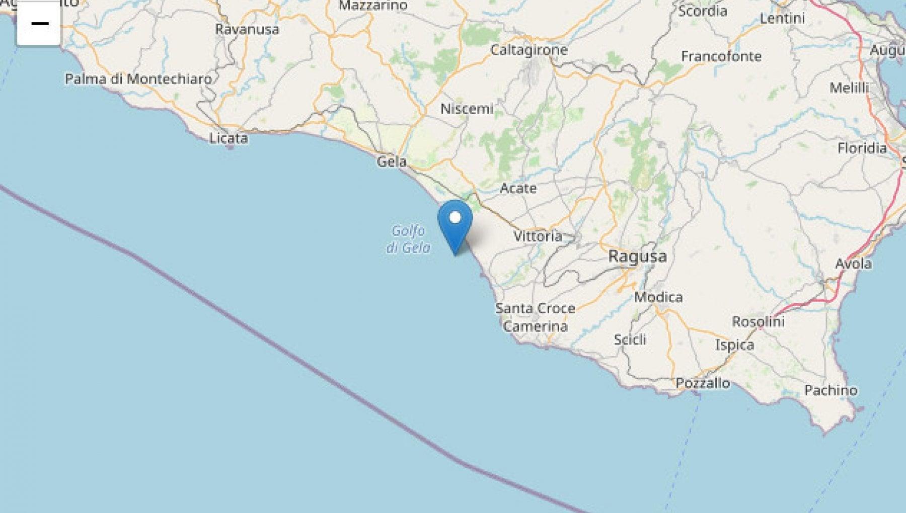 Terremoto di magnitudo 4.4 a Ragusa. La scossa avvertita in tutta la Sicilia orientale