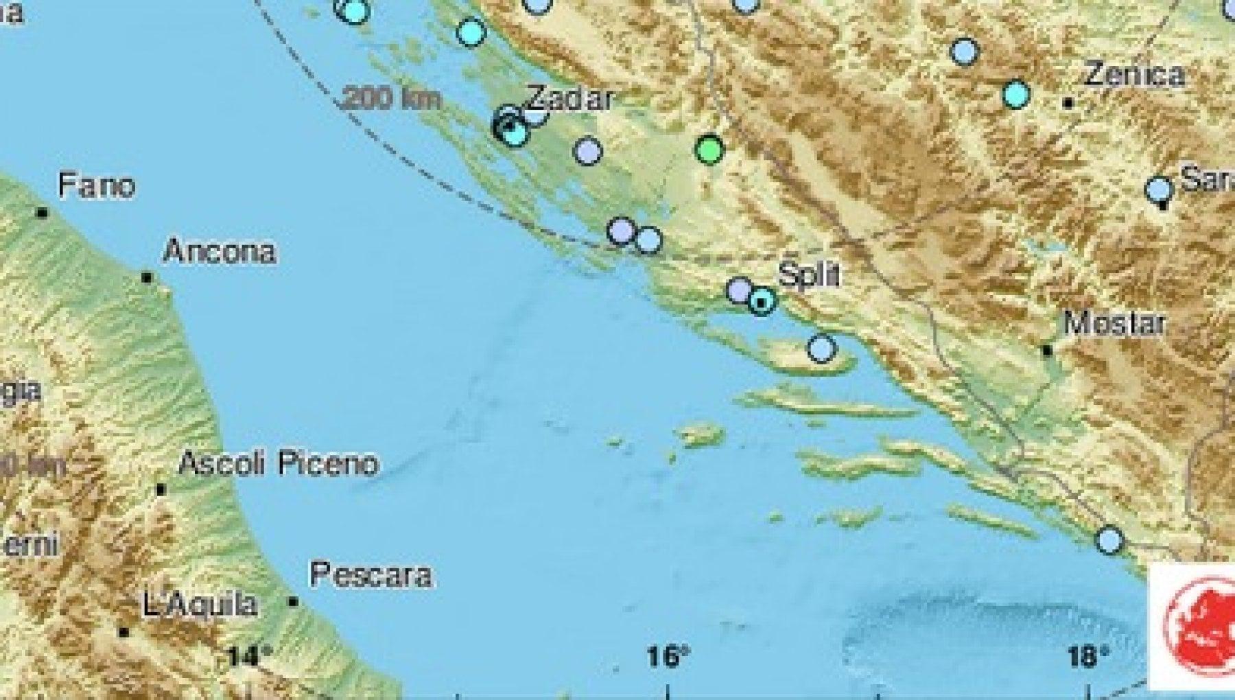 Terremoto di magnitudo 6.3 vicino a Zagabria. Edifici crollati. Scossa avvertita in Italia nelle regioni adriatiche
