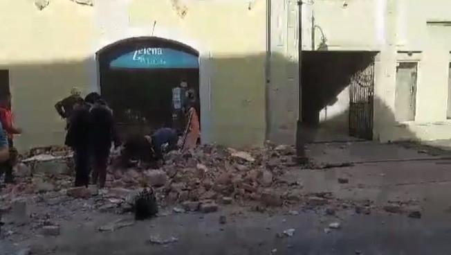 Terremoto in Croazia una scossa pazzesca come nei film