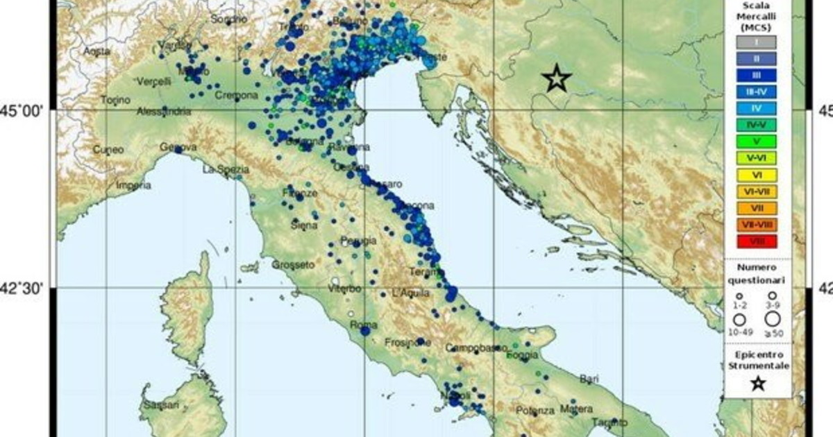 Terremoto legame tra Croazia e Verona. Lesperto Placca adriatica e faglie perche lItalia rischia