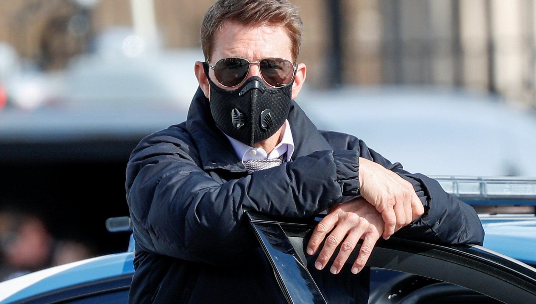 Tom Cruise sul set di Mission Impossible furioso contro due membri della troupe troppo vicini