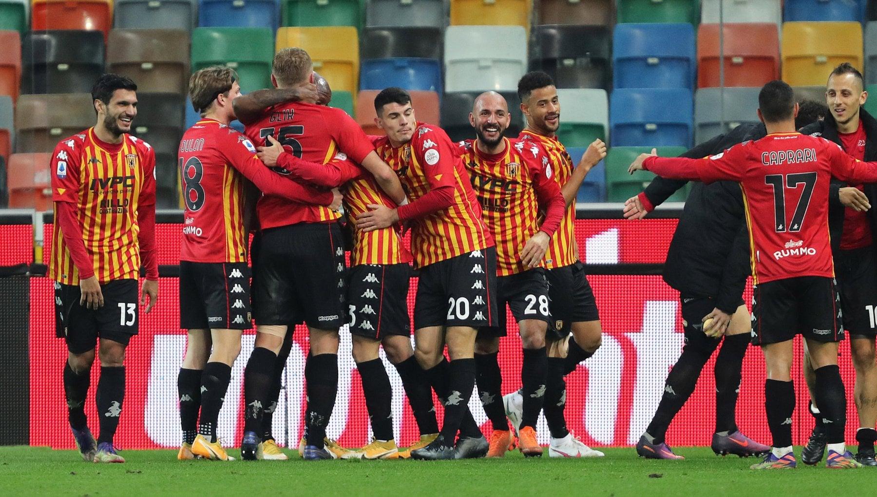 Udinese Benevento 0 2 Caprari e Letizia fanno volare Inzaghi