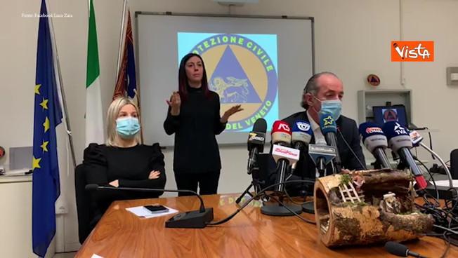 Veneto 24 ore terrificante morti e contagi cifre choc. Zona gialla le pesantissime parole di Zaia