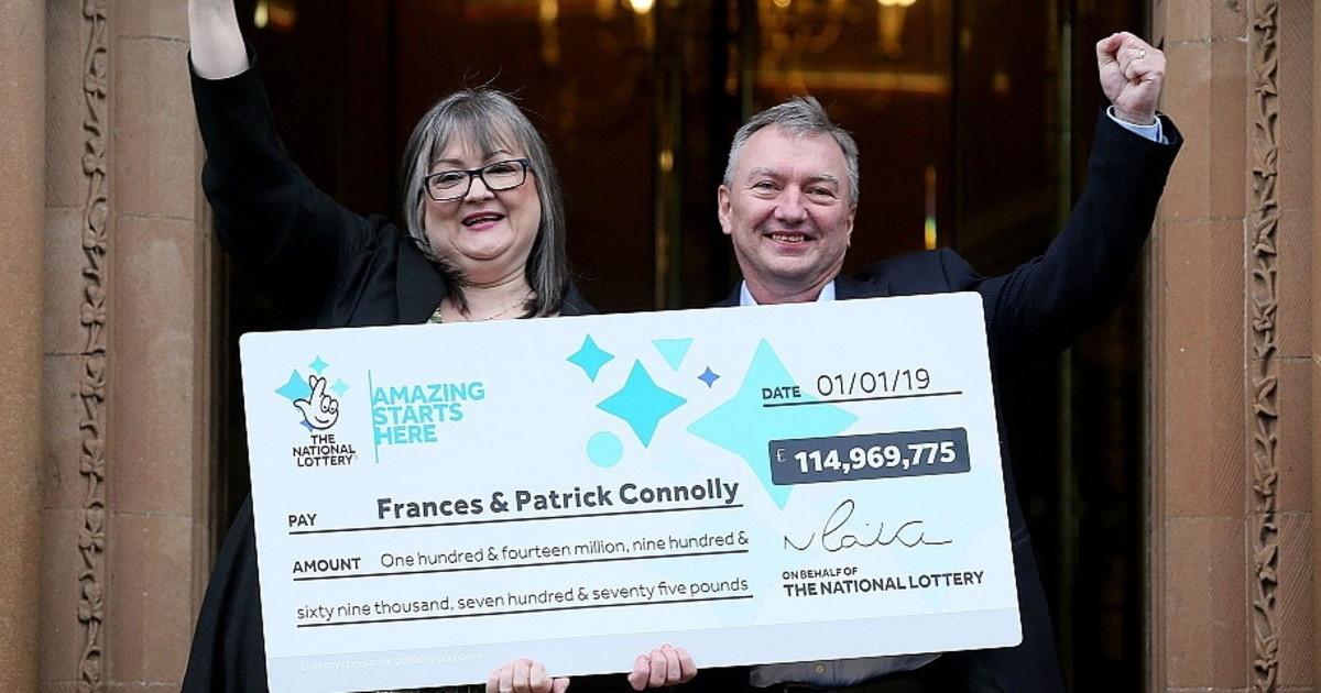 Vincono 115 milioni alla lotteria la decisione clamorosa di moglie e marito come li spendono