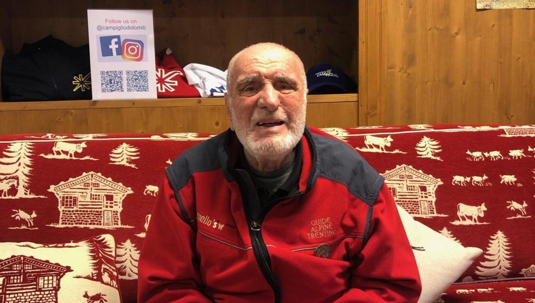 Alpinismo e morto Cesare Maestri il ragno delle Dolomiti