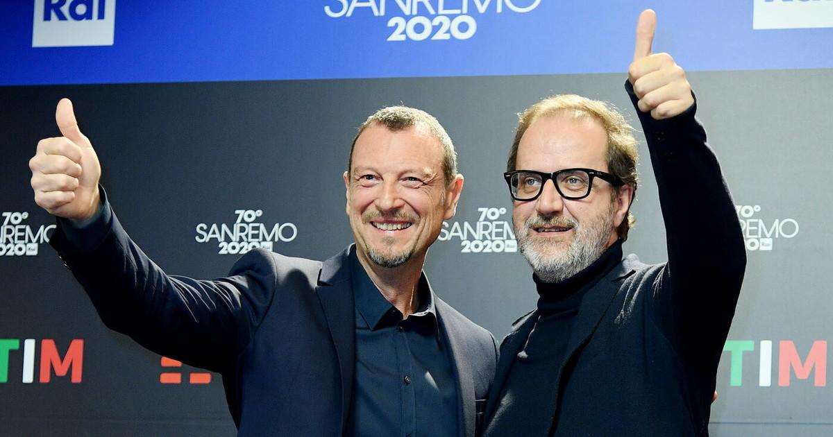 Amadeus e Sanremo No il record di ascolti 2020 e un altro. Il 26 aprile 74 di share ricordate