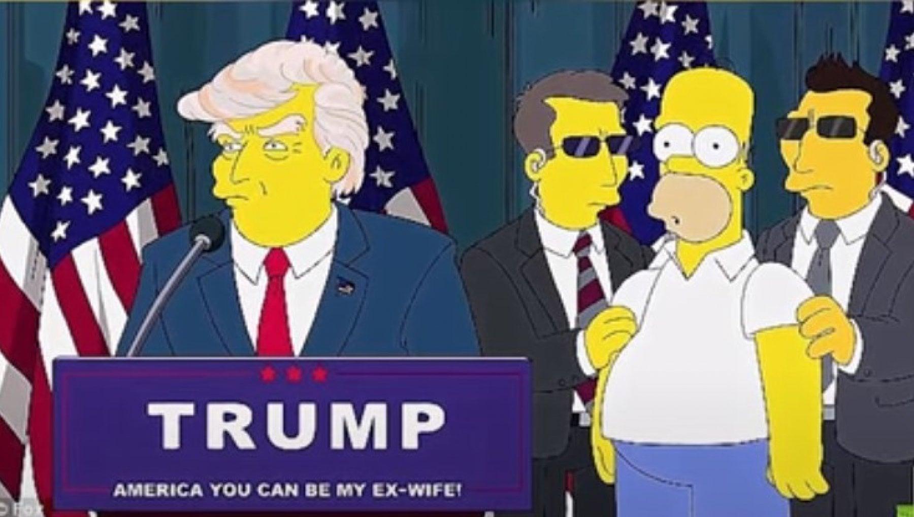 Assalto al Congresso Usa e se i Simpson avessero previsto tutto