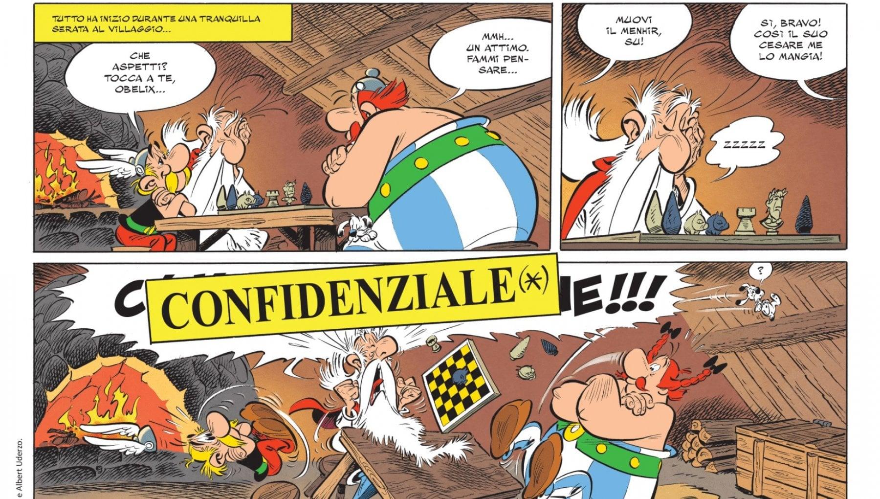 Asterix e Obelix ritornano nel 2021 a ottobre un nuovo fumetto