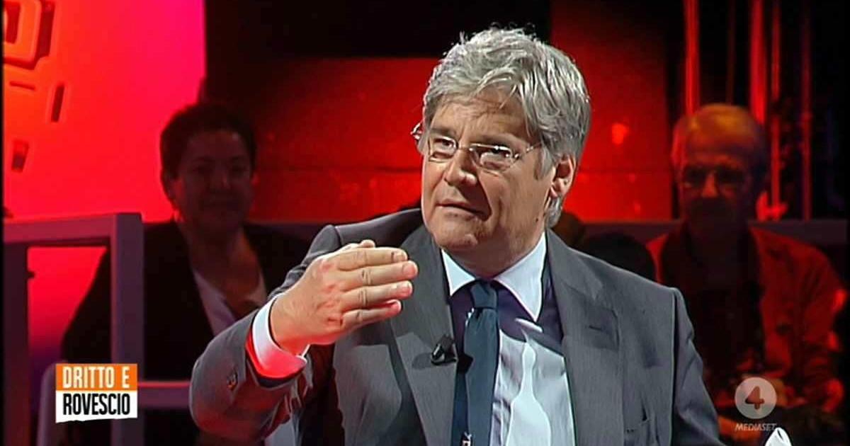 Avete notato chi ce in studio Il segreto del successo di Paolo Del Debbio la sentenza di Maurizio Costanzo