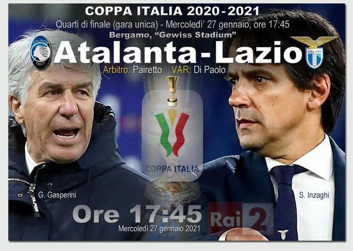 C.ItaliaAtalanta e Lazio si ritrovano dopo finale 2 anni fa