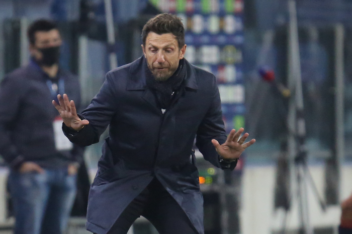 Calcio Cagliari Di Francesco ancora voglia di combattere
