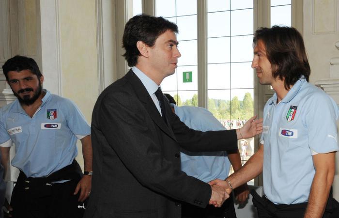 Calcio Gattuso io e Pirlo come Bud Spencer e Terence Hill