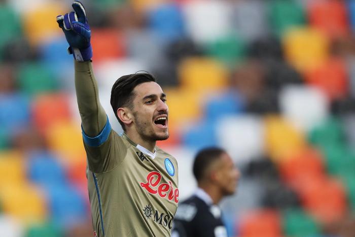 Calcio Napoli Meret spero in 2021 con piu continuita