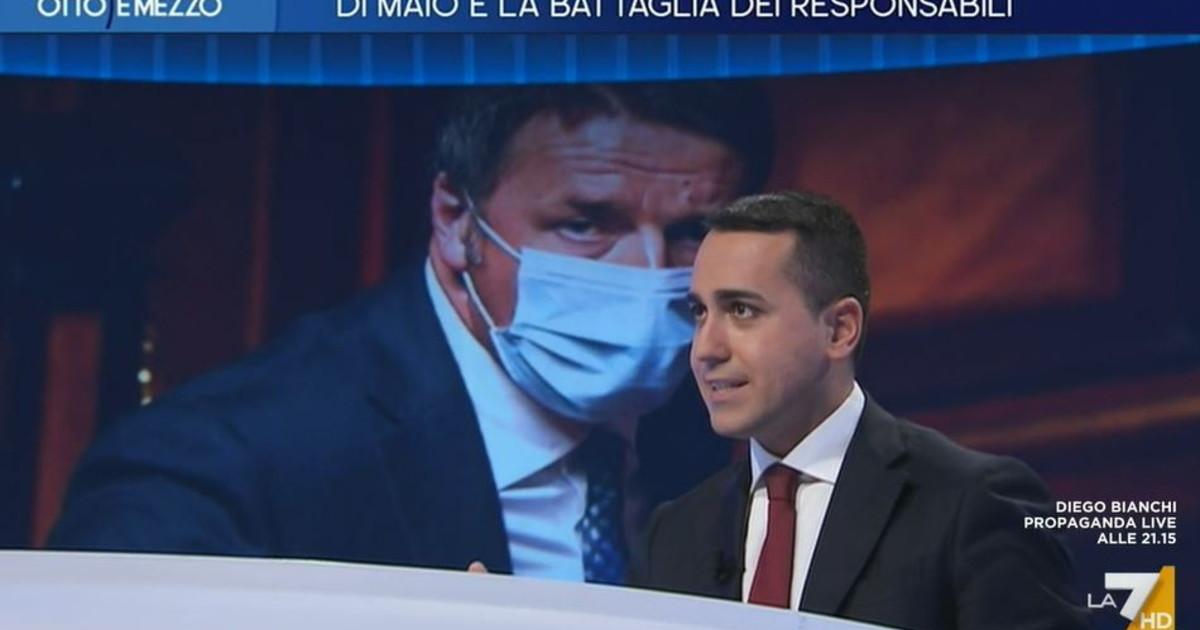 Chi e peggio tra Renzi e Salvini. Di Maio bombarda Credo che tra i renziani... viene giu Italia Viva