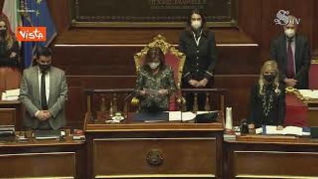 Commemorazione Macaluso in Senato Casellati ne ricorda le origini e lo spirito in Aula