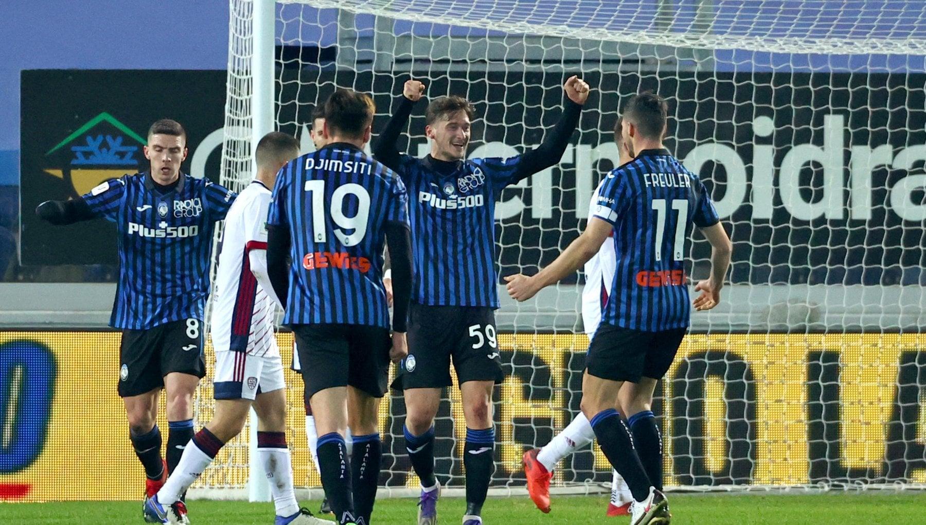Coppa Italia Atalanta Cagliari 3 1 tutto facile per i nerazzurri che vanno ai quarti