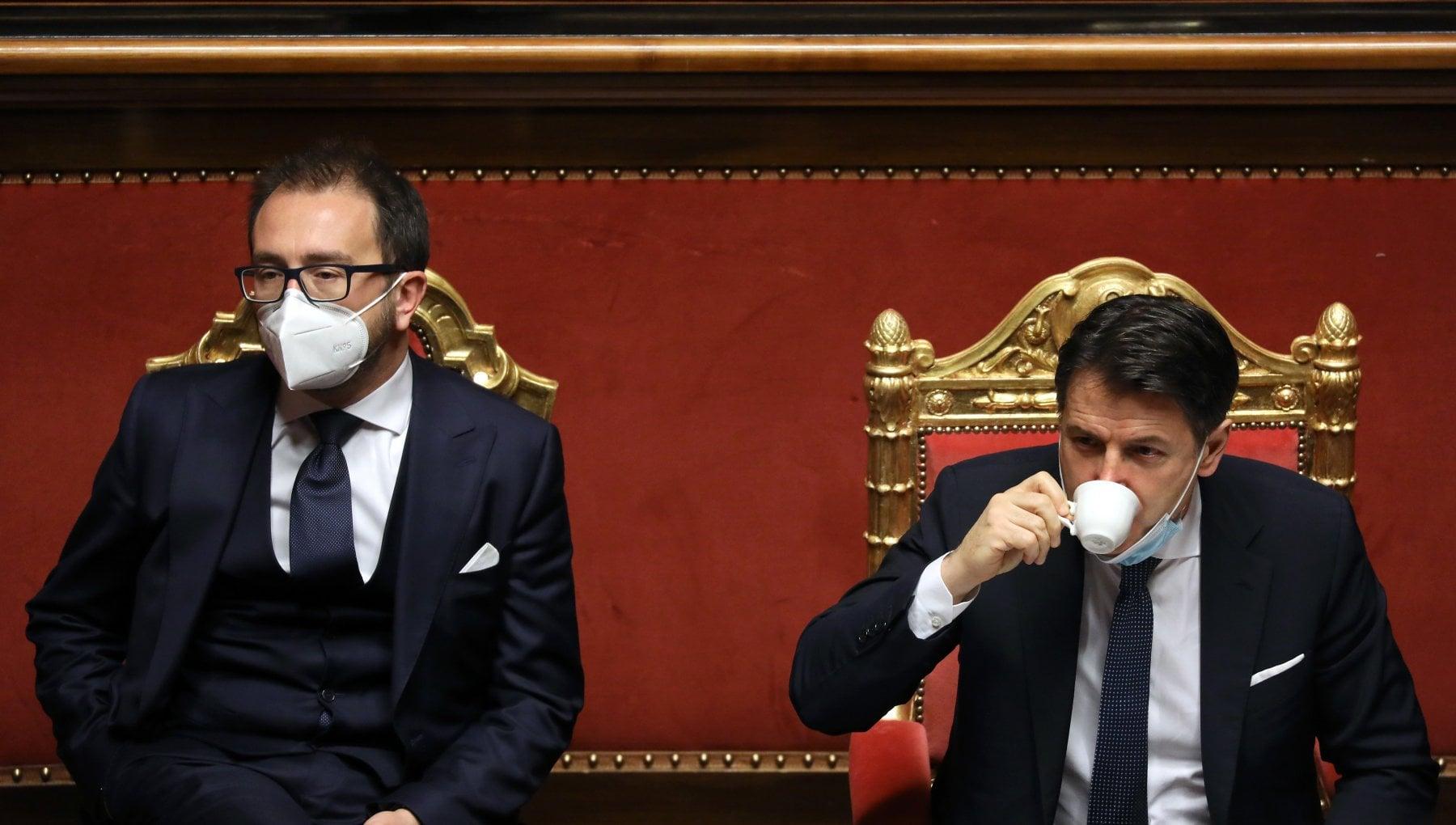 Crisi di governo verso slittamento a giovedi della relazione di Bonafede in Senato. Bettini Voto ultima risorsa