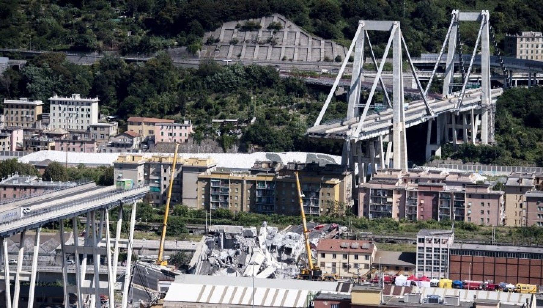 Crollo Ponte Morandi nuove accuse ad Autostrade e al Ministero Omissione di atti di ufficio