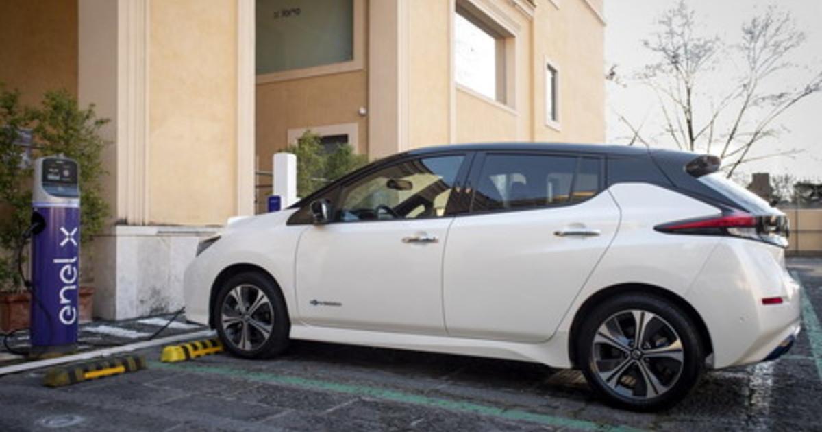 Da Nissan ed Enel nuova soluzione integrata per la mobilita elettrica
