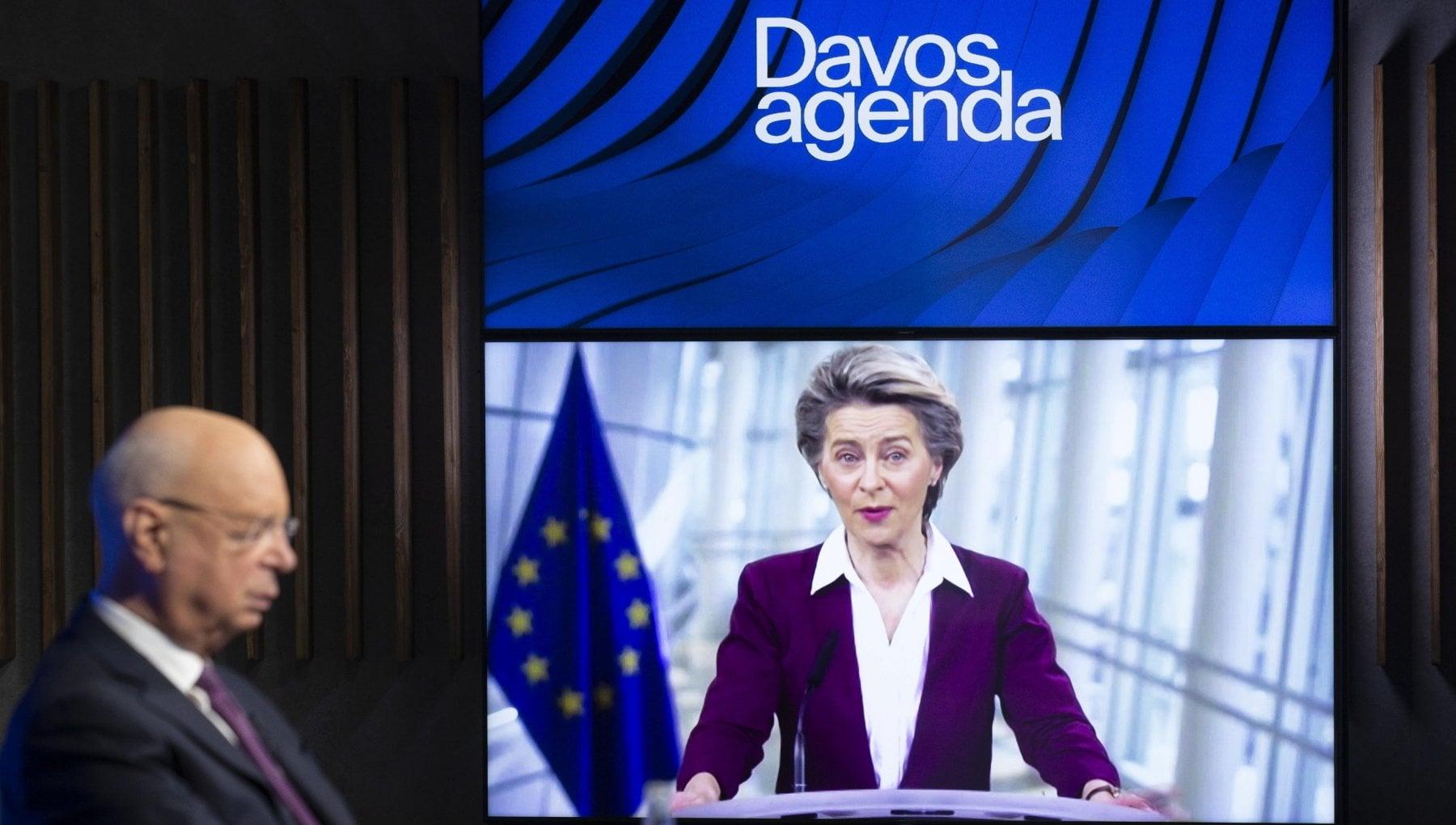 Davos. la cancelliera Merkel Si al multilateralismo ma serve piu trasparenza