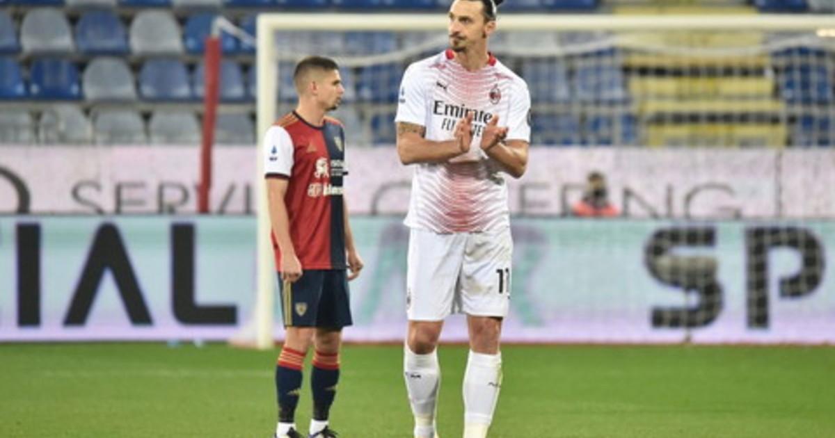 Doppietta di Ibrahimovic il Milan vince a Cagliari per 2 0