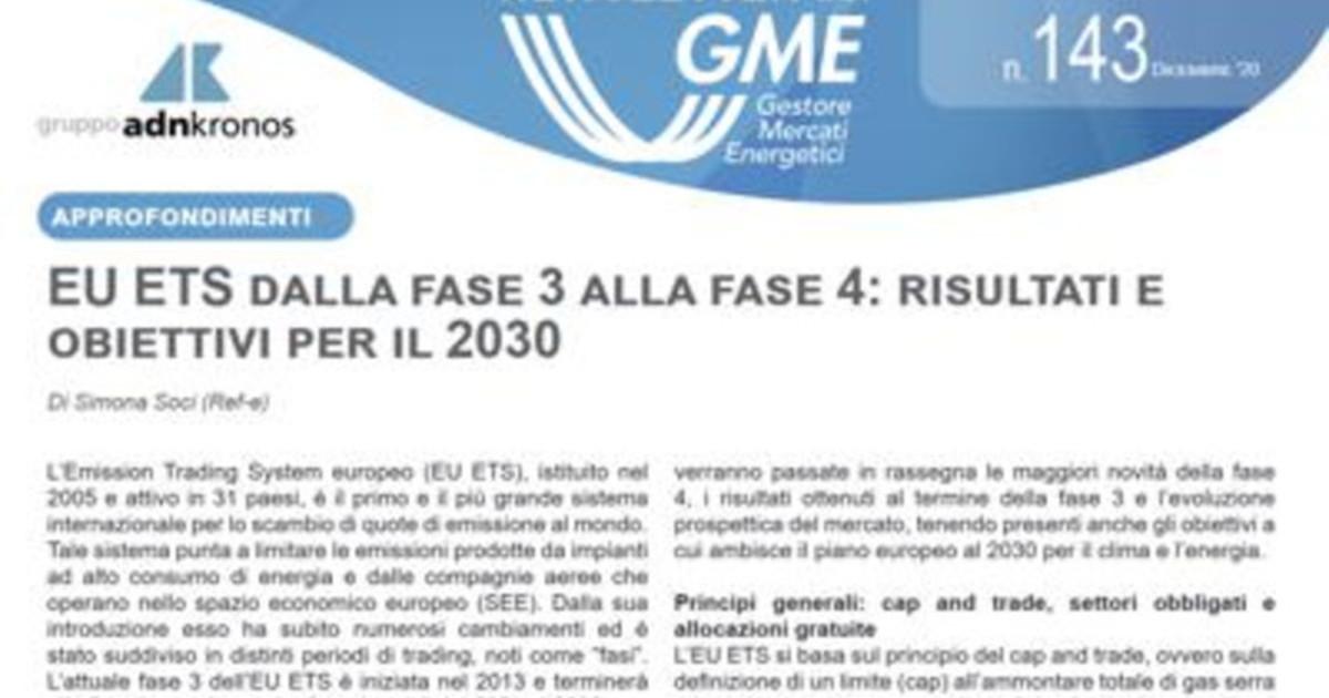 Energia e online la nuova newsletter Gme