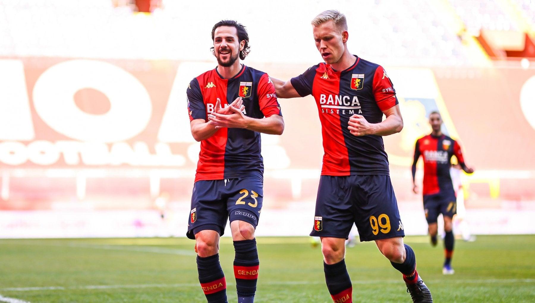 Genoa Cagliari 1 0 decide Destro sardi in caduta libera