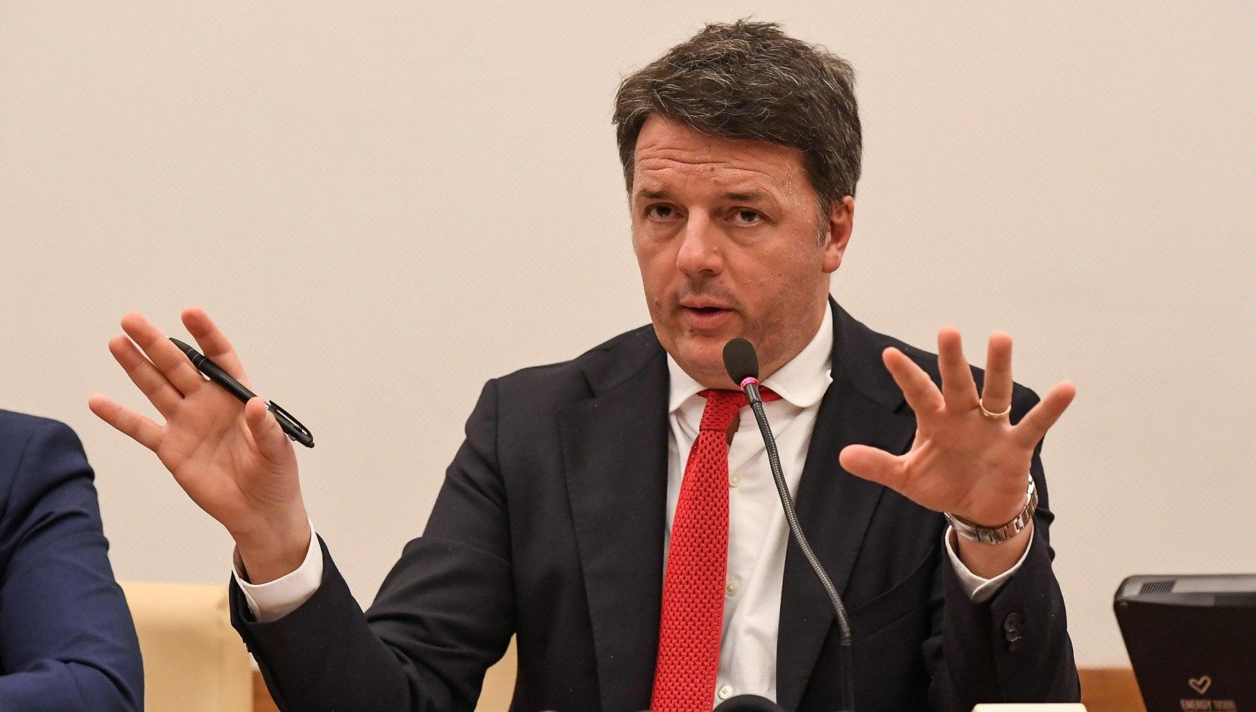 Governo Renzi rilancia loffensiva Non vogliamo poltrone siamo pronti a lasciarle. Con Conte problema politico non personale
