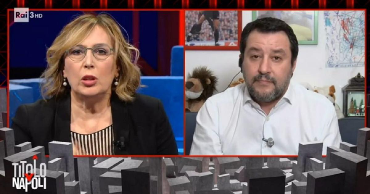 Ha visto Capitol Hill. Sfregio della direttrice Rai a Salvini lui picchia durissimo Non le fa onore. Arroganza sorrisini... rissa in tv