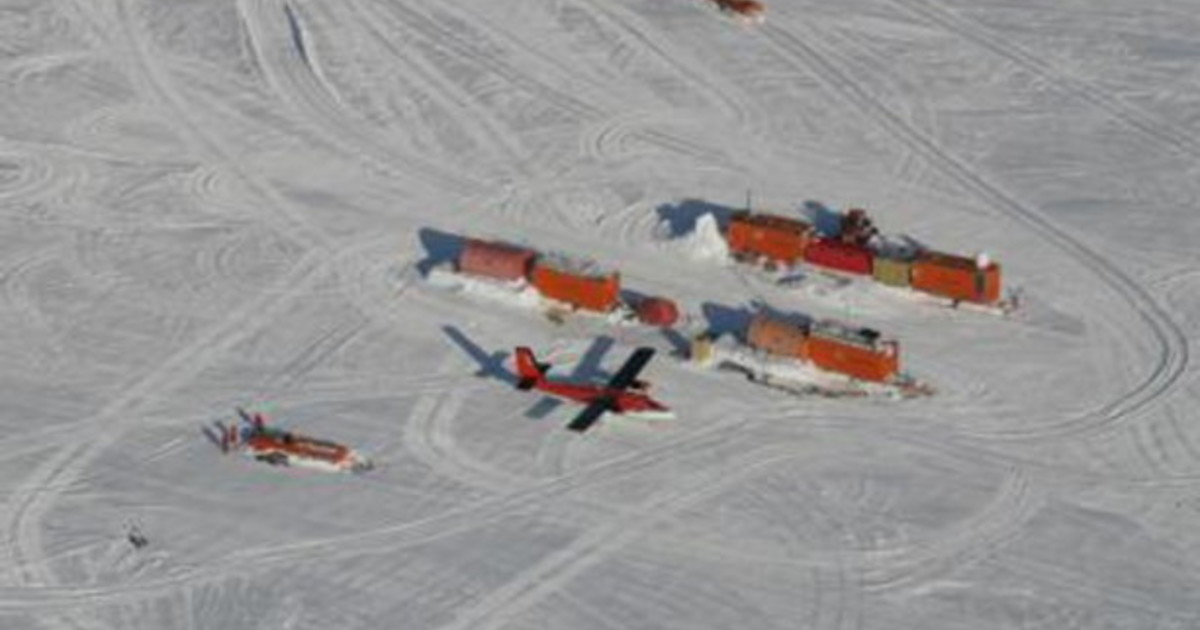 I ghiacci antartici svelano mistero geologico su Marte