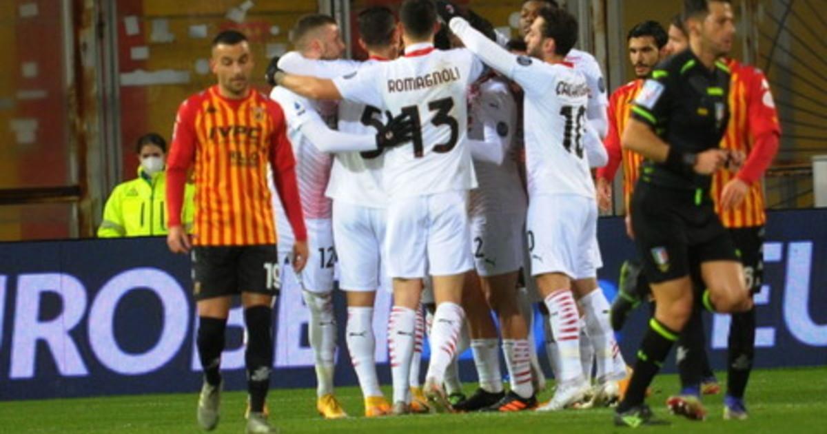 Kessie Leao e il Milan va il Benevento spreca di tutto con luomo in piu rossoneri ancora primi