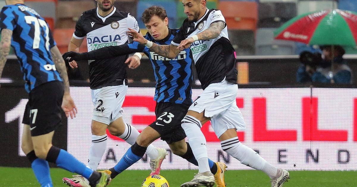 LInter sbatte contro lUdinese 0 0 al Friuli e aggancio sfumato al Milan. E martedi ce il derby di Coppa Italia