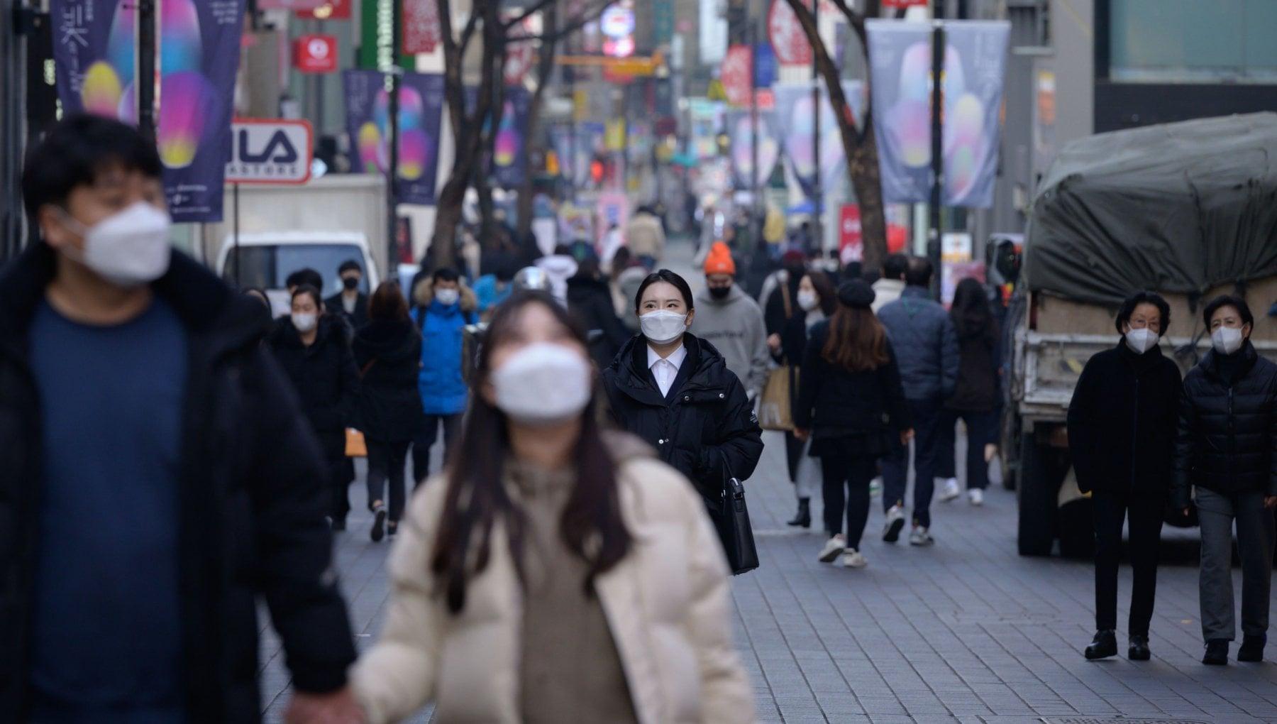 La Corea del Sud si restringe inizia il declino demografico